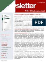 Newsletter T&P N°81