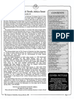 1989 Issue 2 - Introduction to Special South Africa Issue - Counsel of Chalcedon