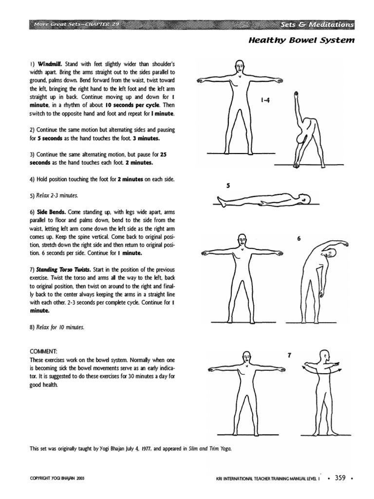 Kriya Healthy Bowel System