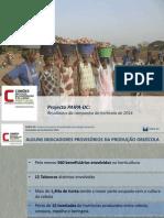 Apresentação Resultados Horta 2014