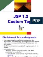 JSP 1.2 Custom Tags
