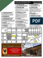 First Friday Art Walk Map 8/1