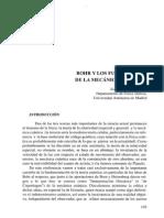 Bohr y Los Fundamentos de La Mc