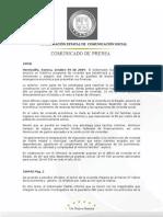 09-10-2009  Padrés en conferencia de prensa anunció un histórico programa de vivienda que beneficiara a 28,500 familias sonorenses y aseguró que Sonora no se quedará de brazos cruzados ante la emergencia económica. B100942