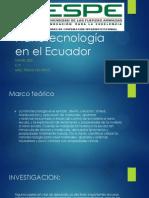 Nanotecnología en El Ecuador- Daniel Ruiz
