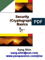 Security (Cryptography) Basics