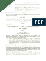 Reglamento Ley de Contrataciones Del Estado (Acuerdo Gubernativo Número 1056-92)