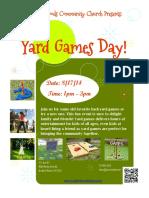 Yard Games Day