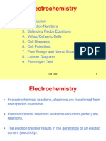 CM1502 Chapter 9 - Electrochemistry