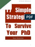 Survive Your PhD eBook