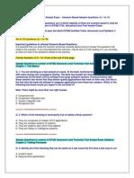 ISTQB Advanced Level Test Analyst Exam - Scenario Based