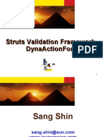 Struts Validation Framework, DynaActionForm