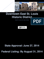Downtown East St. Louis Historic District Presentation
