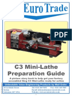 C3 Mini-Lathe Preparation Guide