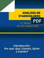 1.-Analisis de Stakeholders