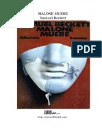 Beckett, Samuel - Malone Muere(1)