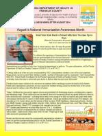 Wellness Newsletter - August 2014 (1)
