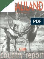 Somaliland Country Report Mark Bradbury