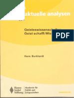 Burkhardt Geisteswissenschaften