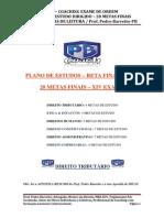 Ped 28 Metas Finais - Xiv Exame de Ordem - 1ª Fase