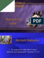 Prophecy Seminar 25