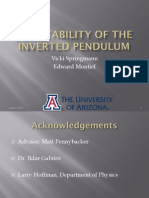 Stability of an Inverted Pendulum
