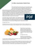 Formaggio Gourmet & Birra Associazione Guida di Sara Kahn