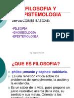 Filosofia y Epistemologia 1