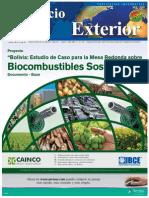 Bolivia, Biocombustibles