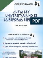 Nueva Ley Universitaria No Es La Reforma Esperada