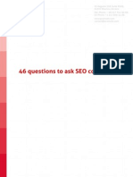 46 questions to ask seo company
