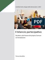 il-bilancio-partecipativo benedikter 2014