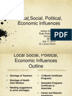 aet555 wk6 local social political economic influences team c  073114