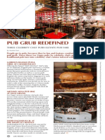 Pub Grub Redefined by Heather Turk