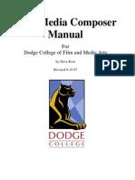 Avid Media Composer Manual