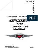Engine Continental IO-550 Operators_Manual