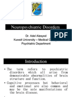 Neuropsychiatric Disorders