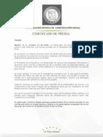 14-10-2009   Guillermo Padrés  sostuvo una reunión privada con el presidente Felipe Calderón en los Pinos, donde trataron diversos temas de interés para los Sonorenses. B1009827