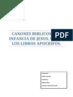 Canones biblicos y la infancia de JESUS.docx