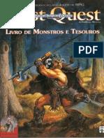 AD&D - First Quest - Livro de Monstros e Tesouros - Taverna Do Elfo e Do Arcanios