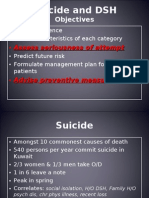Suicide and DSH