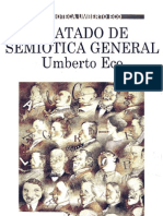 ECO, Umberto - Tratado de Semiótica General