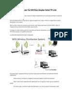 Conectar Dos Router Via Wifi Para Ampliar Señal TP.docx