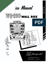 AMI WQ200ServiceManual