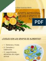 Aporte nutricional de los 3 grupos de alimentos.pptx