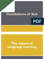 Foundations of SLA
