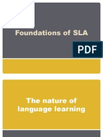 Foundations of SLA