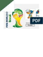 Calendario Mundial Fútbol Brasil 2014...