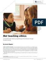 Not Teaching Ethics Article