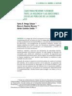 Estrategias Para Prevenir y Atender El Maltrato, La Violencia y Las Adicciones en Las Escuelas Públicas de La Ciudad de México
